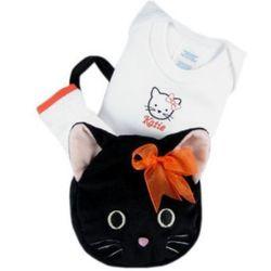 Baby Halloween Kitty Cat Gift Set