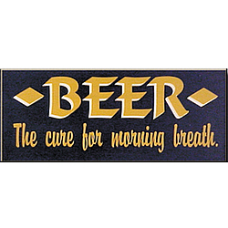Beer Breath Sign