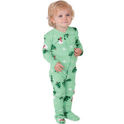 Infant's Let it Snow, Man! Pajamas