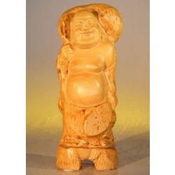 Handcarved Wooden Buddha