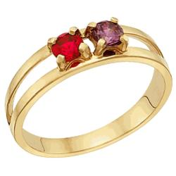 14k Original Mother's Ring with Birthstone