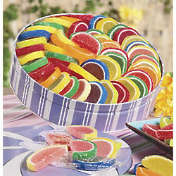 Spring Fruit Gel Slices 28 oz. Gift Tin