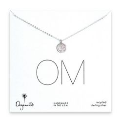 OM Modern Day Word Necklace