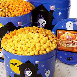2 Gallon Spooked 3 Way Halloween Popcorn