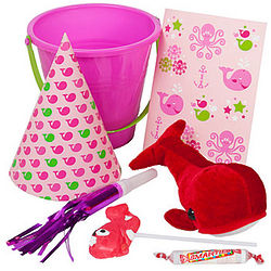 Girl's Trendy Aquatic Party Favor Pack