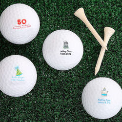 Personalized Golf Ball Set