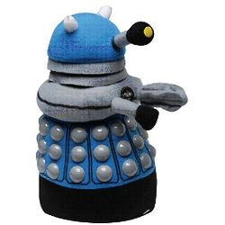 Doctor Who Blue Dalek Plush Doll