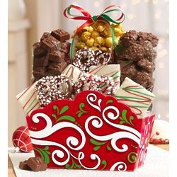 Harry London Holiday Sweets Basket