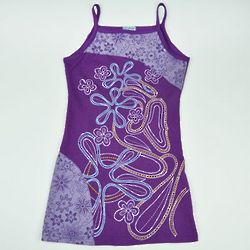 Girl's Cotton Flower Dress