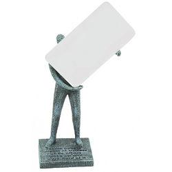 Work Hard Business Card Holder