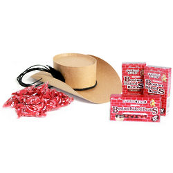 Cowboy Hat Candy Gift Box