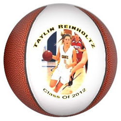 Personalized Mini Basketball with Color Printing