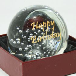 Celebration Bubbles Paperweight