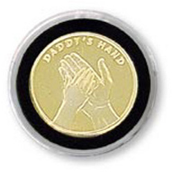 Dad's Hand Medallion