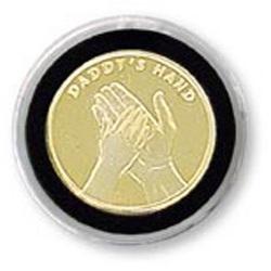 Dad's Hand Medallion