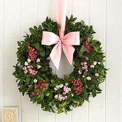 Bundle of Joy for Baby Girl Wreath