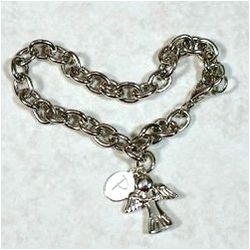 Angel of Love Engraved Bracelet