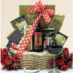 Hogue Cellars Cabernet Sauvignon Valentine's Day Gift Basket