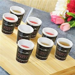 Personalized Bachelorette Party 8-Set Shot Glasses