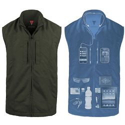 Men's Hidden Pocket Vest