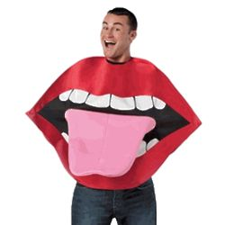 Lips and Tongue Costume