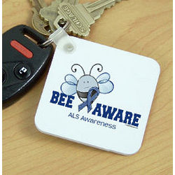 ALS Awareness Key Chain