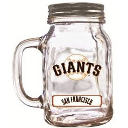 San Francisco Giants Mason Jar