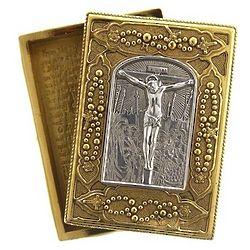 Crucifixion Rosary Box