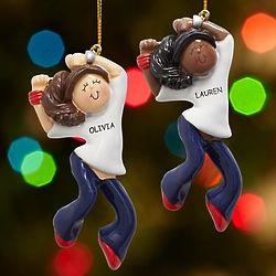 Personalized Hip Hop Dancer Ornament
