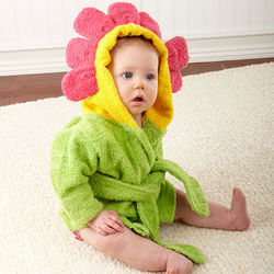 Infant Showers and Flowers Hooded Spa Robe