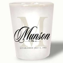 Personalized Ceramic Shot Glass