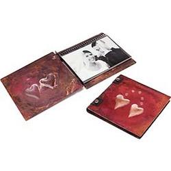 Two Hearts Handmade Copper Photo Album