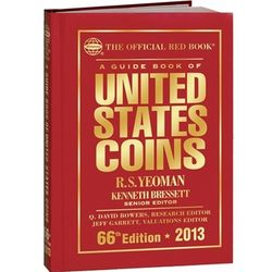 2012 Official Red Book Guide of US Coins