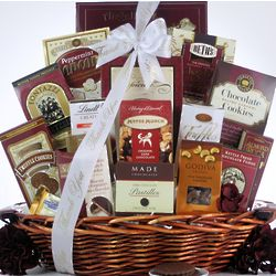 Chocolate Madness Thank You Gift Basket