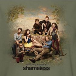Shameless Cast Couch T-Shirt