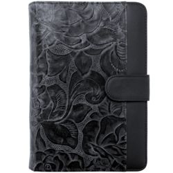 Santa Fe Leather Snap-Tab Portable Planner Cover