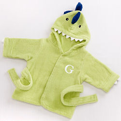 Baby's Splash-a-Saurus Dinosaur Hooded Spa Robe