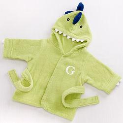 Baby's Splash-a-Saurus Dinosaur Hooded Spa Robe