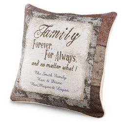 Family is Forever Pillow