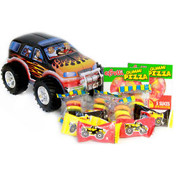 Monster Truck Candy Gift Tin