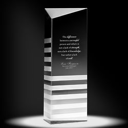 Personalized Innovation Crystal Award