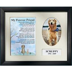Personalized My Forever Friend Pet Memorial