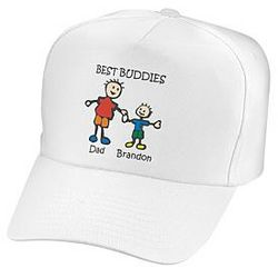 Adult Personalized Friends and Pals Hat