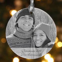 Photo Sentiments Personalized Ornament