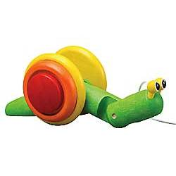 Shelby the Snail Pull-Toy