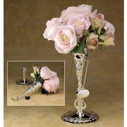Victorian-Design Bridal Bouquet Holder
