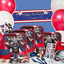 Captain America Ultimate Party Kit