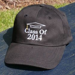 Embroidered Graduation Hat