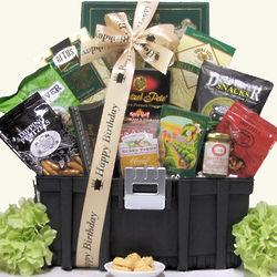 Handyman Birthday Snack Toolbox Gift Basket