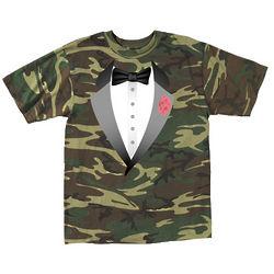 Camo Tuxedo T-Shirt